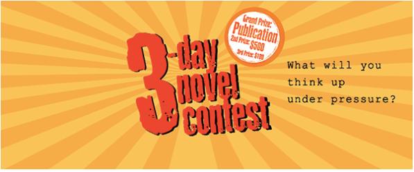3 Day Novel Contest