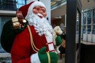 A Christmas display at InterContinental The City.
