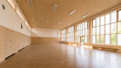 Kleine Halle des Fleix-Fechenbach-Berufskollegs Detmold