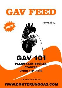 Pakan Ayam Gavfeed starter dokter unggas