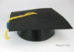 Extraordinary Graduation Party Crafty Moms Everywhere Are Getting Ready Todecorate School Colors As Friends Halls Familydig Out Make A Graduation Cap From A Birthday Party Hat Dollar Store Crafts