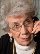 Calling grandmother