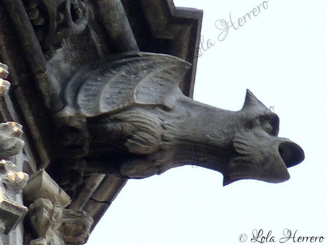 Gárgola La Maison du Roi, Bruselas (Bélgica) (358)