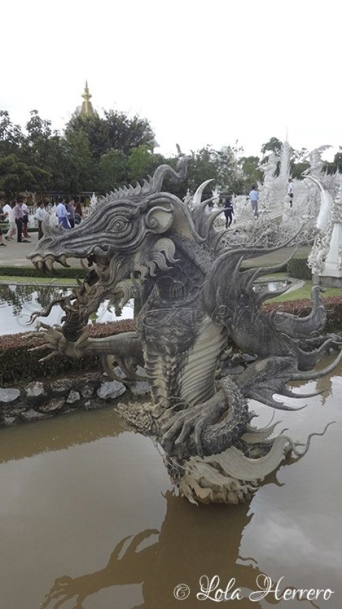 Templo Blanco Chiang Rai (Tailandia) 211