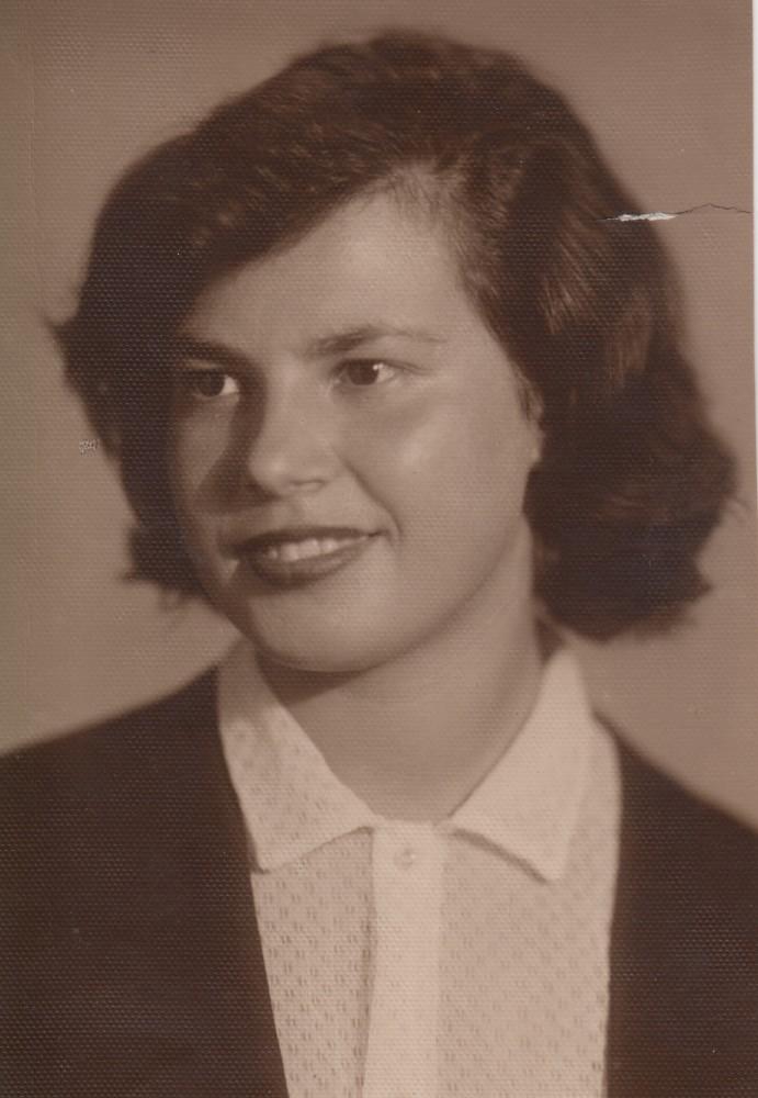 Тамара Степановна Абрамова. 1958 год