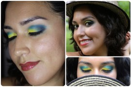 Jessica-Flores-Colombian-Yellow-Blue-Red-Makeup