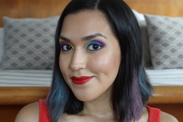 Rainbow Eyes Rainbow Chalk Hair DIY How To