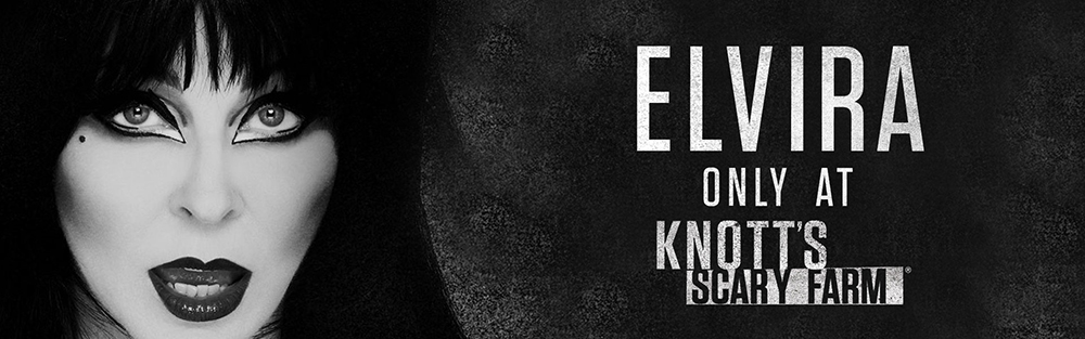 Elvira - Only At Knott's Scary Farm