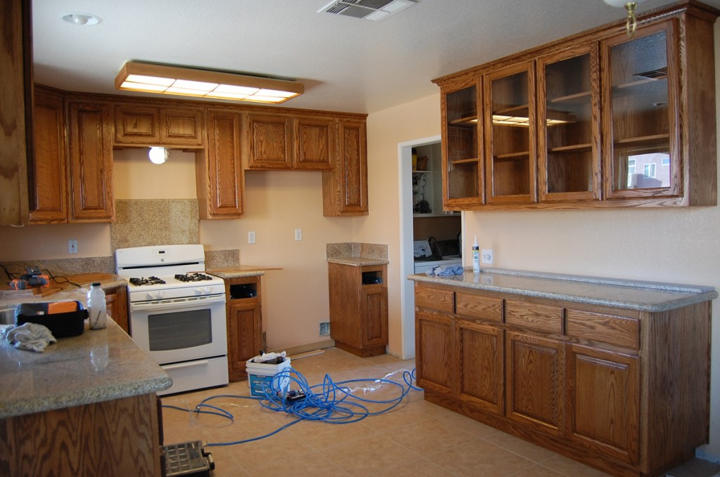 01 - My kitchen 1 week after moving in