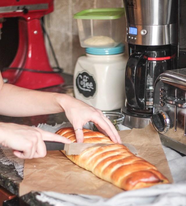 Arugula Pesto Bread | Domestic B(i)atch
