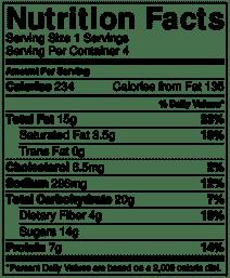 roasted beet salad nutrition info