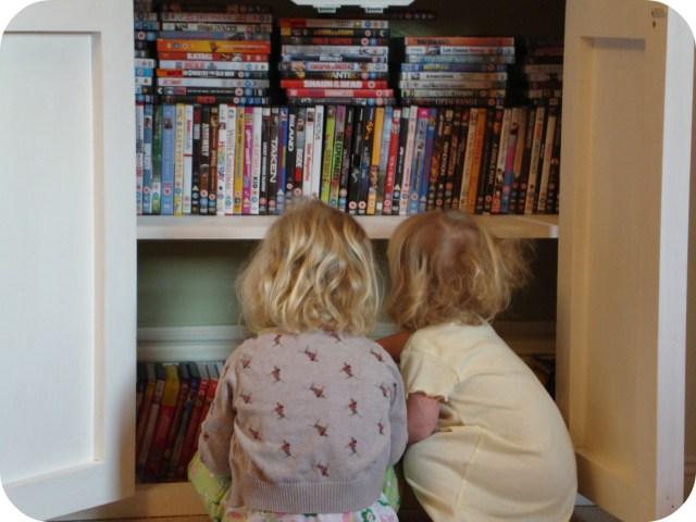 choosing DVDs