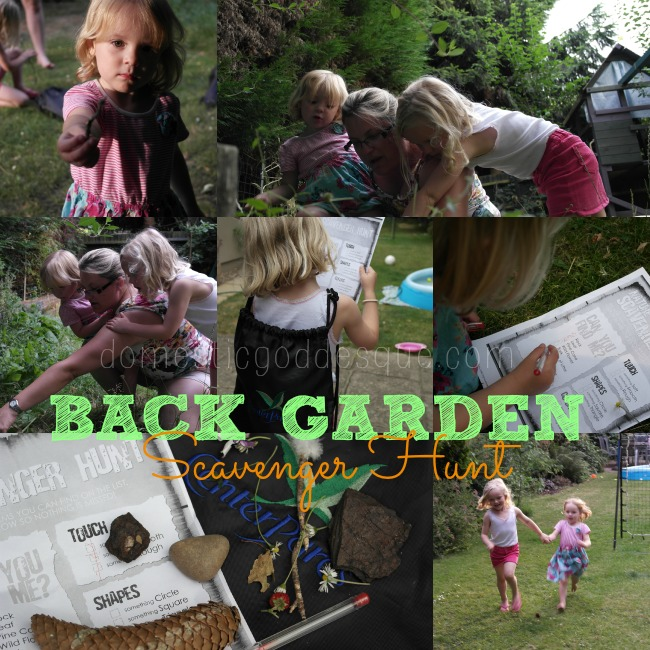 Back Garden Scavenger Hunt