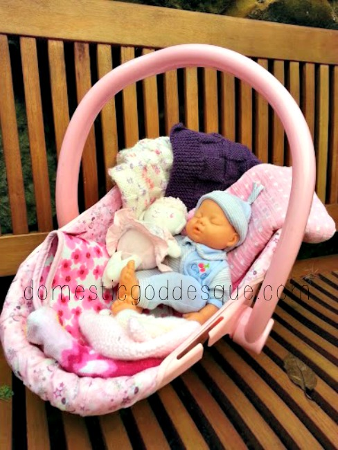 baby doll hamper gift