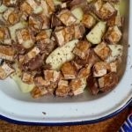Autumnal Apple Snickers Crumble