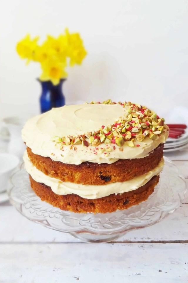 carrot cake vanilla bean icing