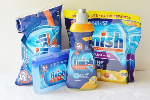 Finish products giveaway