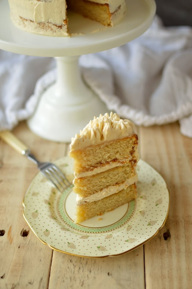Vanilla layer cake with ermine frosting - Domestic Gothess