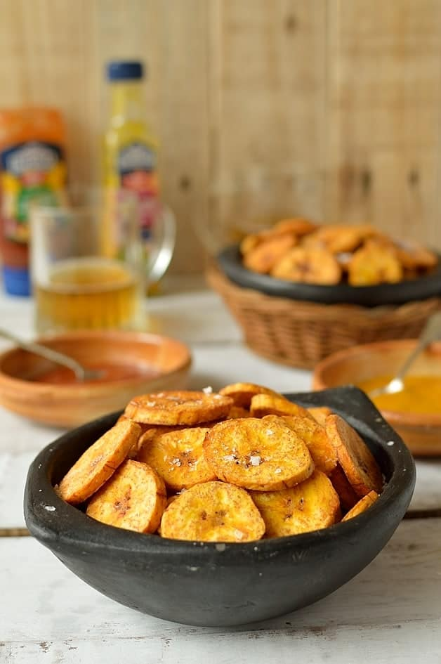 Crispy fried plantain chips - Domestic Gothess