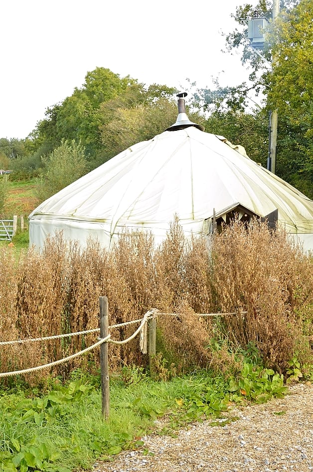 river cottage yurt