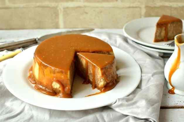 chocolate caramel ginger cheesecake 2