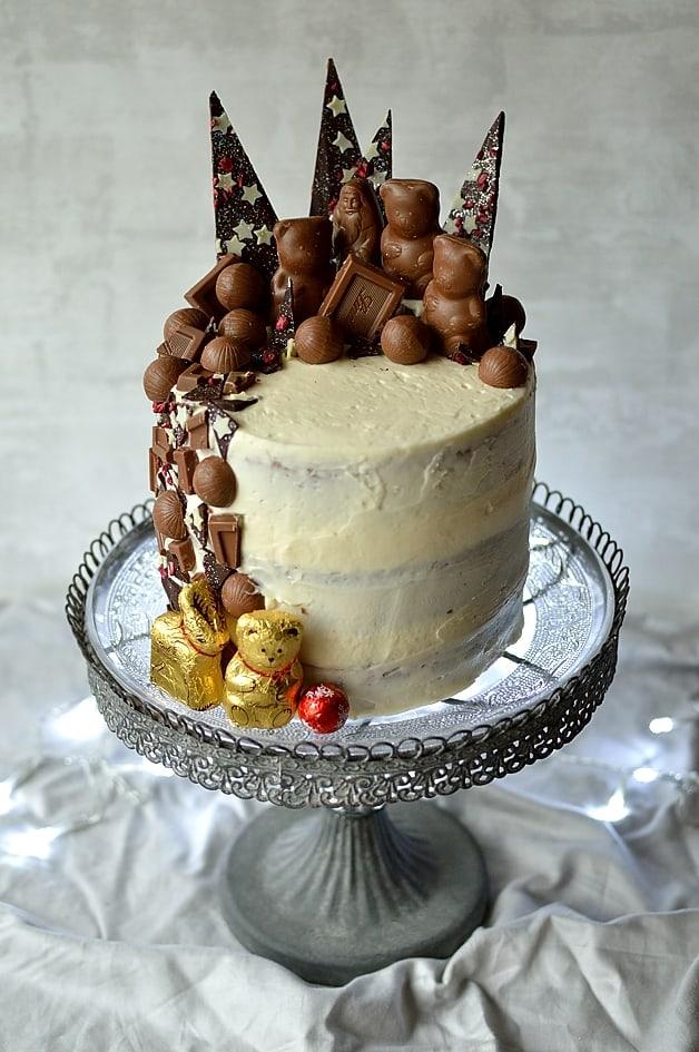 Buttermilk Cake With Spiced Vanilla Icing Recipe — Dishmaps