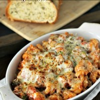 20 minute Cheesy Veggie Pasta Bake