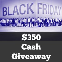 $350 Black Friday Giveaway!
