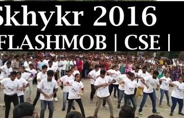 Flashmob-Skhykr-2016-CSE-TKR-College-Hyderabad-
