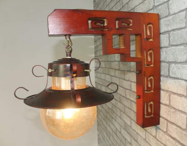 Chinese-American-font-b-country-b-font-Mediterranean-Wooden-Wall-Mirror-Lamp-balcony-light-lantern-lamp