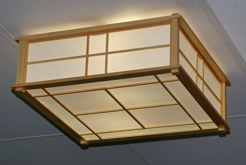 l_im04a - japanese interior shoji ceiling light