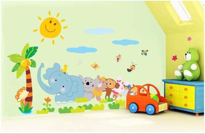 DIY-Elephant-Monkey-Aninmal-zoo-for-Kids-font-b-Baby-b-font-room-font-b-wall