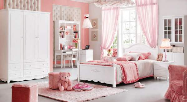 Baroque-Style-Kids-Bedroom-Set-Kid-Solid-Wood-Decorative-Furniture-Princess-Theme-Bed-Wardrobe-Desk-9919