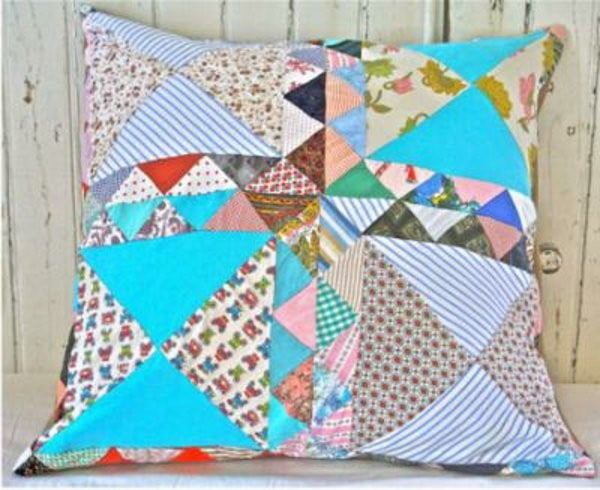 vintage-patchwork-pillows-for-an-old-nursery-rocking-chair-