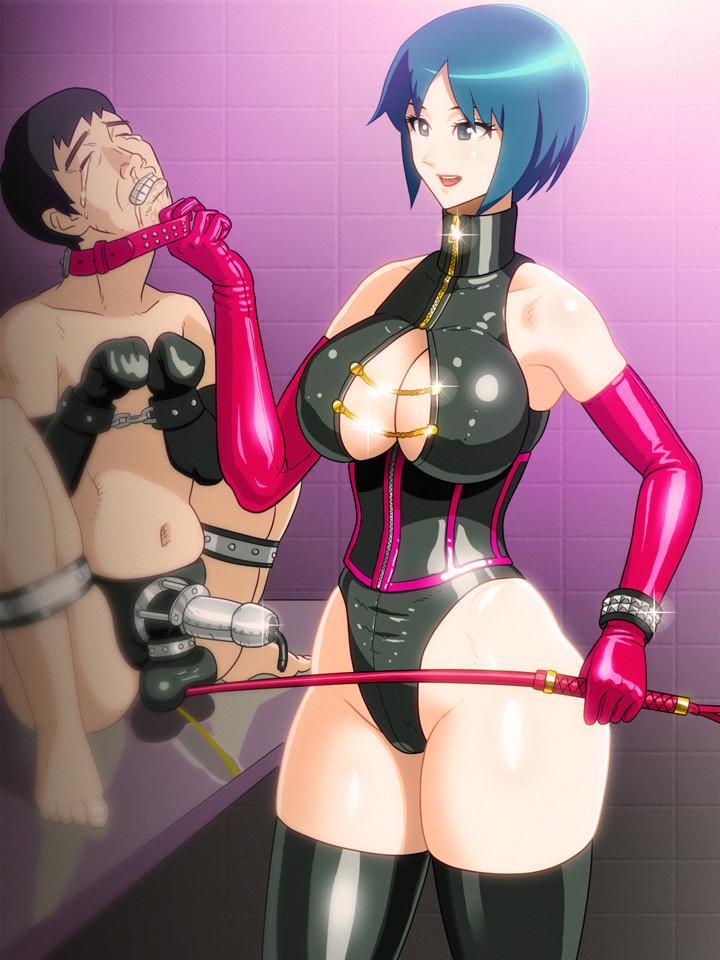 hentai femdom ball torture captions
