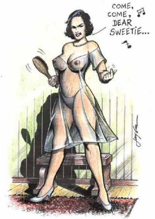 vintage lesbian femdom gif