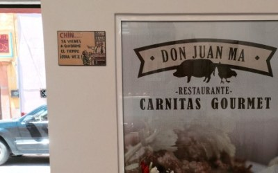 Perhaps the best carnitas in San Miguel. Pass it on.