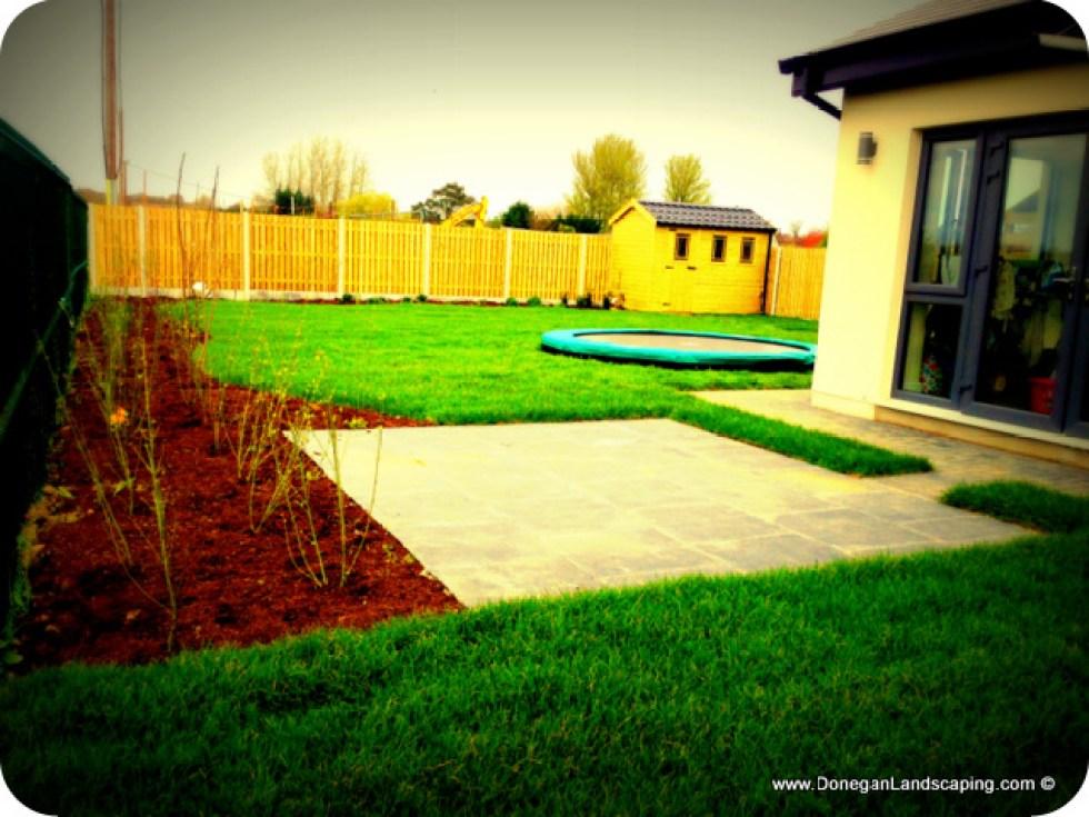 family back garden, dublin