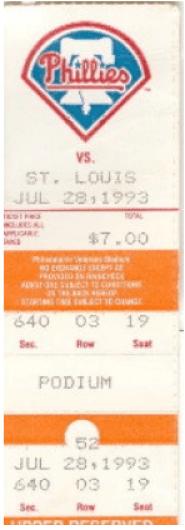 1-Vet ticket