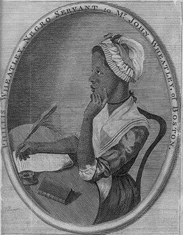 Phillis Wheatley (Library of Congress)