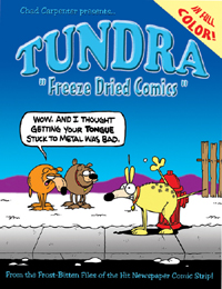 FreezeDried Giveaway: Tundra comics collection.
