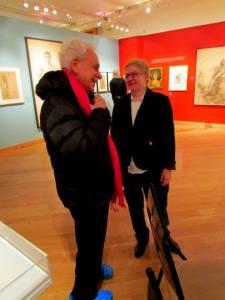 Historian Jonathan Ned Katz, y yo (c) Social - Diarist/Jon Nalley, 2013