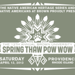12th Annual Spring Thaw Pow Wow - Shirt Design