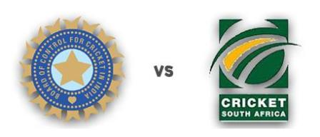 India Vs South Africa live Cricket Match