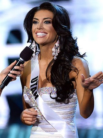 Miss Utah Marissa Powell Botches Her Answer on Miss USA