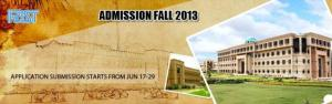National University of Computer & Emerging Sciences issued the admission Schedule 2013. Students can submit application forms through online from June 17-29(Mon-Sat) and for MBA, MS & PhD admission application process starts from June 24-29(Mon-Sat).