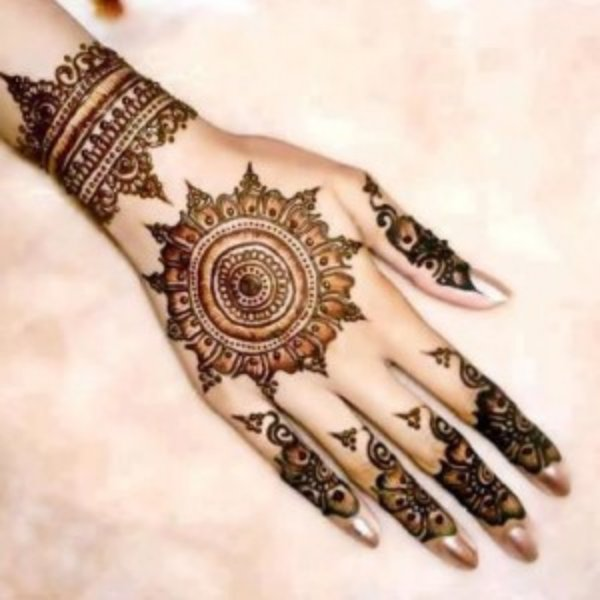 Eid Fashion Mehndi Designs 2013