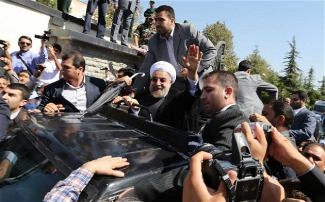 Shoe Thrown on Iranian president After Obama Call
