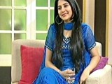 Sanam Baloch as a anchor Pics