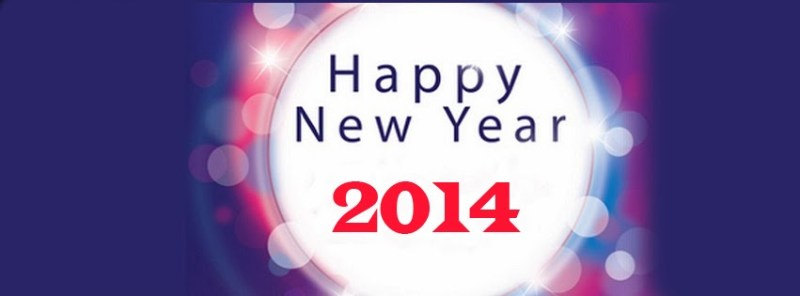awesome facebook cover photos  Happy New Year 2014